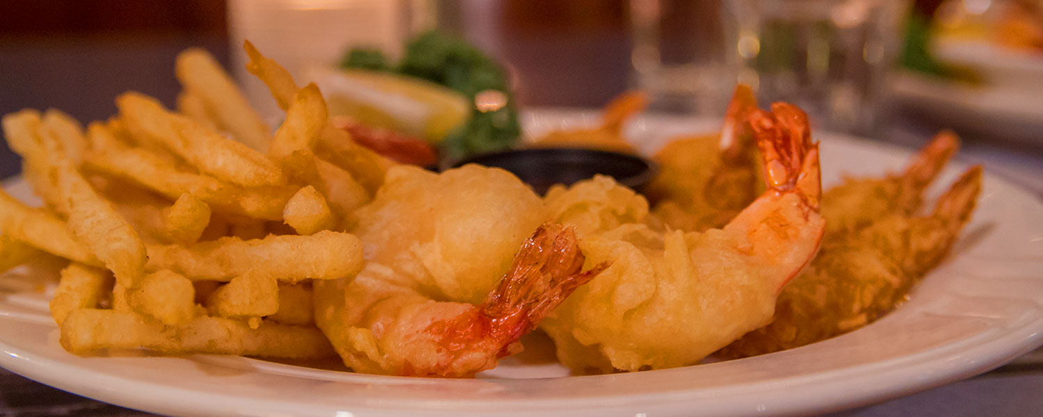 fried shrimp - Castle Hill Supper Club - restaurant and banquet facility