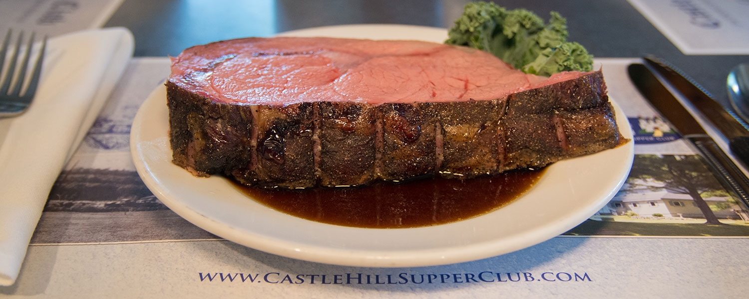 Famous Steaks - Castle Hill Supper Club - restaurant and banquet facility