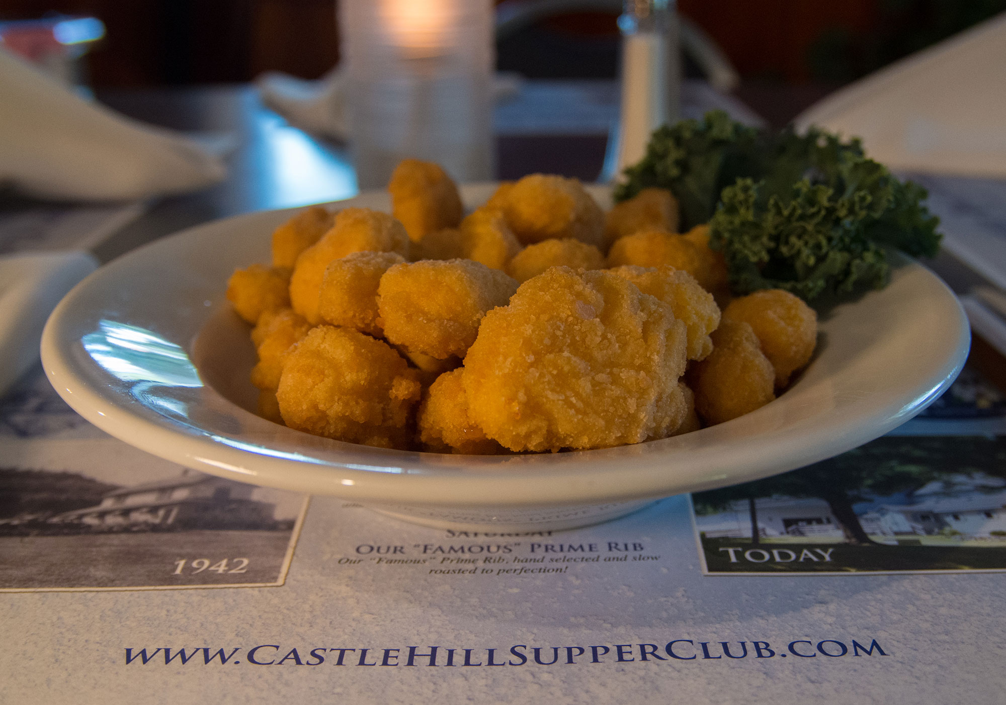 Wisconsin Cheese Curds - Castle Hill Supper Club - restaurant and banquet facility