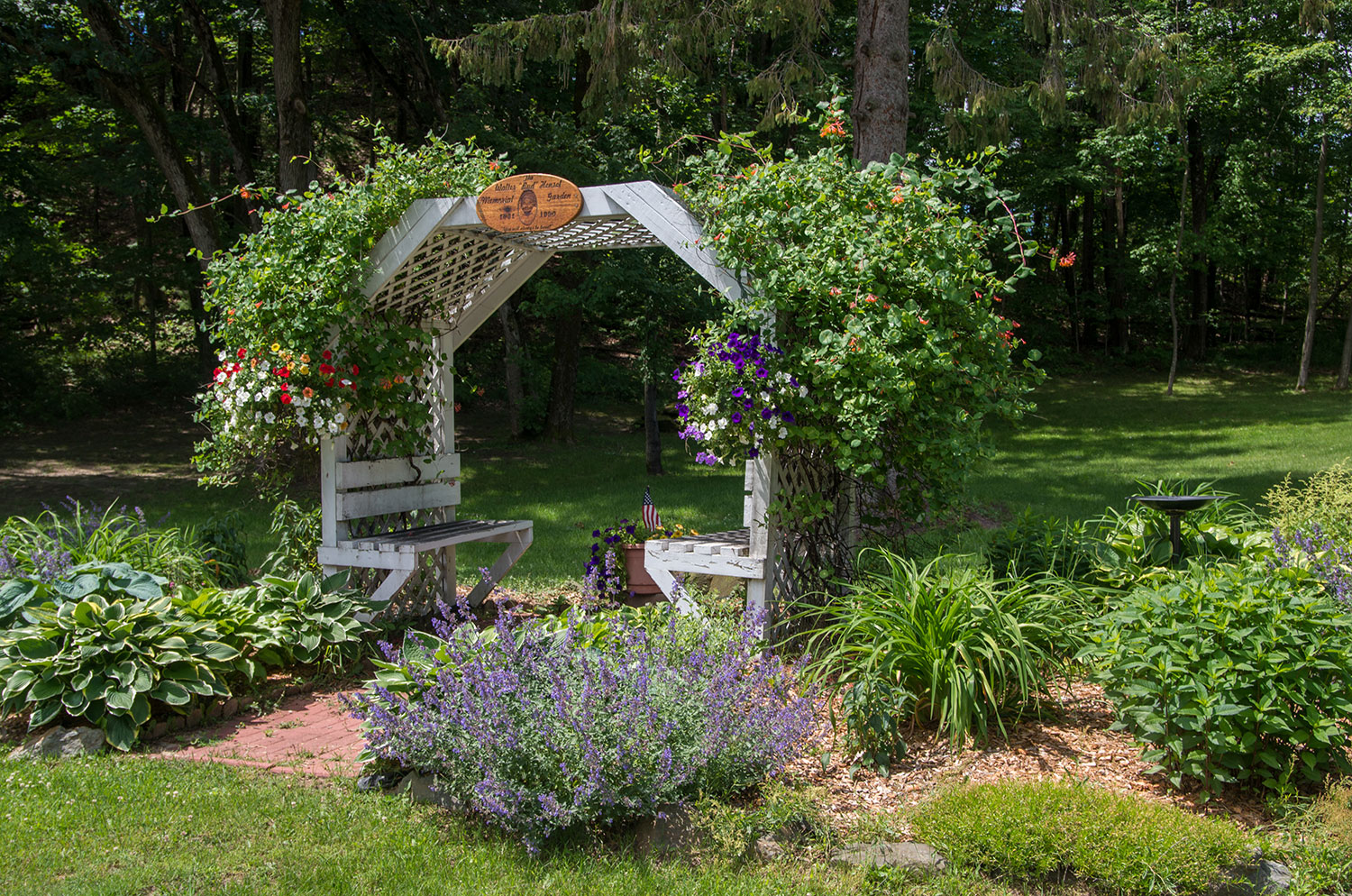 Wedding Arch at Castle Hill Supper Club - restaurant and banquet facility